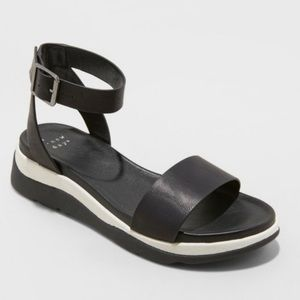 New Day Raven Ankle Strap Sport Sandals Size 9